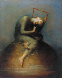 Jungian perspective on Anxiety and Depression: painting George Frederick Watts - Hope
