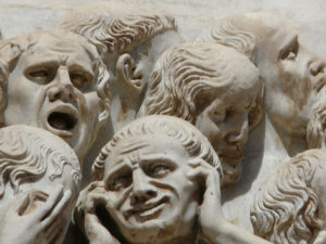 Jungian perspective on Anxiety and Depression: Sculpture from Orvieto Duomo facade